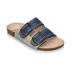 SANTÉ Zdravotní obuv dětská D/202/86/S12/BP modrá (vel. 27-30)