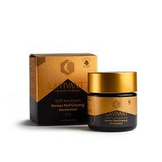 Lavivant gold, korejský červený 100% fermentovaný extrakt 30 g 110 mg/g