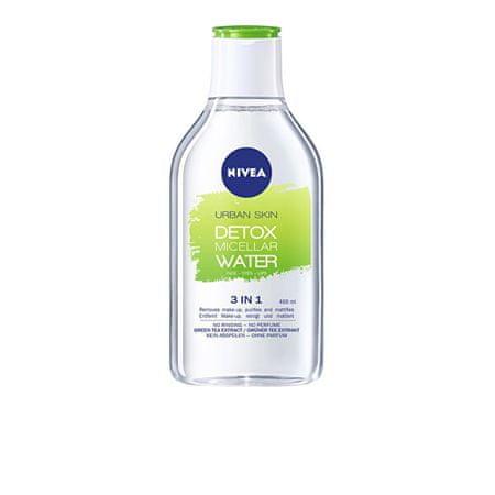 Nivea Micellás víz mattító hatással Urban Detox (Micellar Water) 400 ml