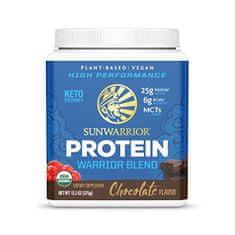 Sunwarrior Protein Blend BIO čokoládový 375 g