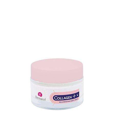Dermacol Intenzivno Pomlajevalna nočna krema Collagen Plus (Intensive Rejuven ating Night Cream) 50 ml