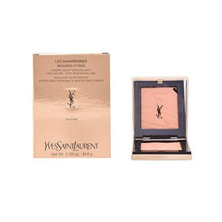Yves Saint Laurent Les Sahariennes bronasti pudri ( Bronzing Powder) 8 g (Odstín 02 Fire Opal)