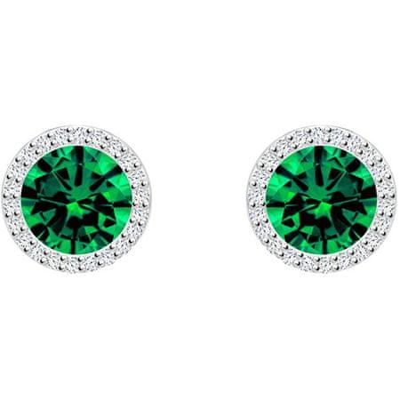 Preciosa SrebrneKolczyki Emerald 5269 66