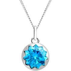 Preciosa Dámský stříbrný náhrdelník Vela 5252 67 (řetízek, přívěsek) stříbro 925/1000