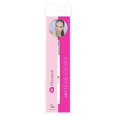 Dermacol Kozmetična ščetka za ustnice s torbico in kartico D60 (Master Brush Lips)