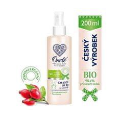 Onclé Luxusné detský čistiaci a ochranný olej na zadoček s Bio šípkovým olejom 200 ml