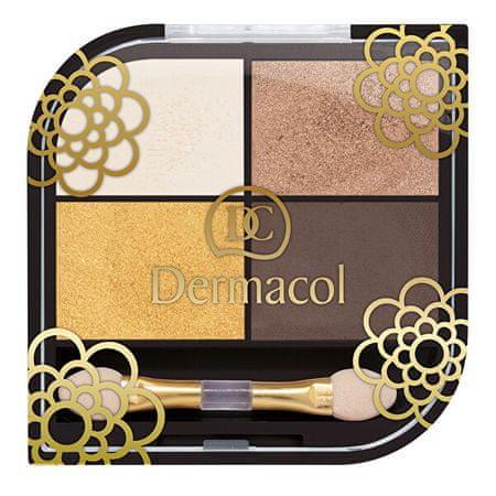 Dermacol Quatro (Eyeshadow) 8 g (árnyalat 04)