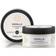 Maria Nila Jemná vyživující maska bez permanentních barevných pigmentů Vanilla (Colour Refresh Mask)