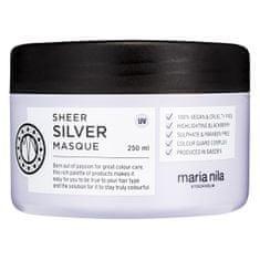 Maria Nila Tápláló maszk szőke hajra, Sheer Silver (Masque) 250 ml