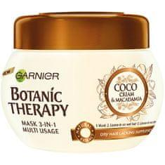 Garnier Botanic Therapytápláló és puhaságot kölcsönző hajmaszk(Coco Milk & Macadamia Mask) 300 ml