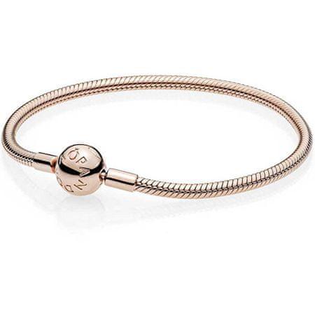 Pandora Luksusowy brąz bransoletka 580728 (długość 17 cm)