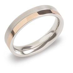 Boccia Titanium Pozlacený titanový snubní prsten 0129-07