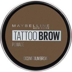 Maybelline Gelová pomáda na obočí Tattoo Brow (Pomade) 4 g