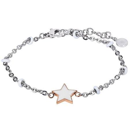 Morellato Acél karkötő a csillaggal Élvezze a SAJE35-et