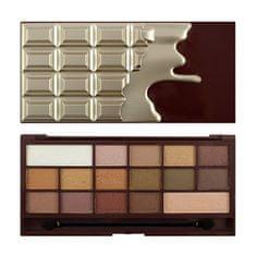 I Heart Revolution Paletka 16 očních stínů Chocolate Golden Bar (Chocolate - Golden Bar) 22 g