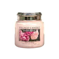 Village Candle Dišeča sveča v kozarcu Fresh Cut Peony 390 g