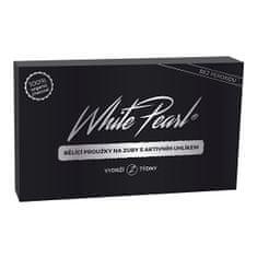 VITALCARE CZ Bieliace prúžky na zuby s aktívnym uhlíkom White Pearl