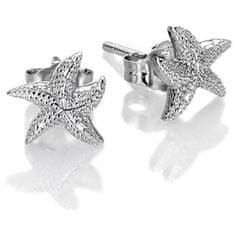Hot Diamonds Stříbrné náušnice s pravými diamanty Daisy DE604