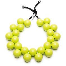 Ballsmania Originální náhrdelník C206 13-0550 Lime