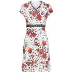 Smashed Lemon Dámské šaty 19334 Black White/Red