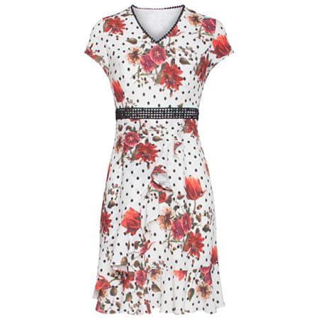 Smashed Lemon Női ruha 19334 Black White / piros (méret M)