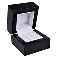Jan KOS Drewniane pudełko na Kolczyki lub obrączka y BB-2 / NA / A25