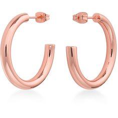 Rosefield Luxus rózsaszín aranyozott fülbevaló Iggy JCHSR-J085