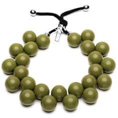 Ballsmania Originální náhrdelník C206 18-0316 Verde Oliva