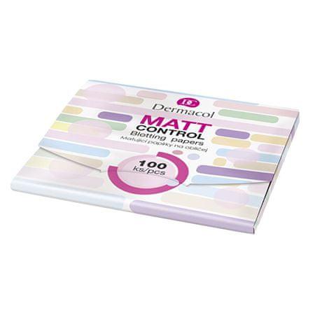 Dermacol Matt vezérlés (Blotting Papers) 100 db