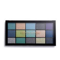 Makeup Revolution Paletka očních stínu Deep Dive (Reloaded Deep Dive Eye Shadow) 15 x 1,1 g