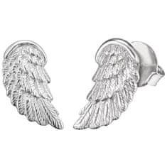 Engelsrufer Stříbrné náušnice Andělské křídlo ERE-WING-ST