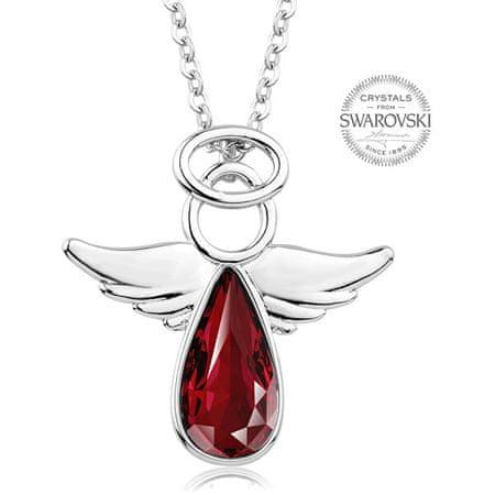 Levien Piros kristály nyaklánc Angel Rafael