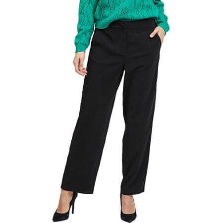 VILA Ženske hlače Vinathalia Pant Black (Velikost 44)