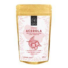 Natu 100% BIO prášok z plodov aceroly 60 g