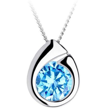Preciosa Srebrna ogrlica Wispy 5105 67 (veriga, obesek) srebro 925/1000