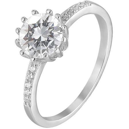 Beneto Ezüst gyűrű kristályokkalAGG206 (Kerület 56 mm) ezüst 925/1000