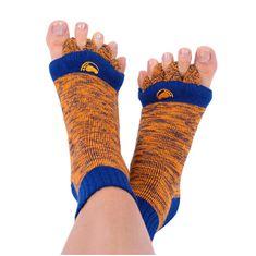 Pro nožky Adjustačné ponožky ORANGE / BLUE