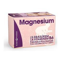 Rosenpharma Rosen Magnesium 300 mg perlivé pastilky 20 ks