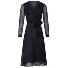 Smashed Lemon Dámské šaty 19878 Black/Cobalt