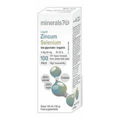 Minerals70 Liquid Zincum/Selenium 100 ml