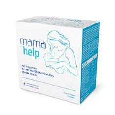 SALUTEM Pharma MamaHelp podpora laktácie 14 vrecúšok s čokoládovou príchuťou