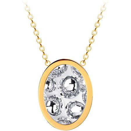 Preciosa Rozsdamentes acél medál nyaklánc, Idared 7361Y00