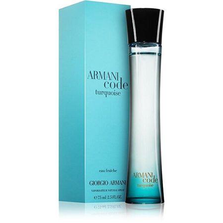Giorgio Armani Code Turquoise For Women - EDT 75 ml