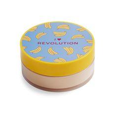 I Heart Revolution Sypký pudr Banana (Loose Baking Powder) 22 g