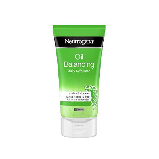 Neutrogena Pleťový peeling Oil Balancing (Daily Exfoliator) 150 ml