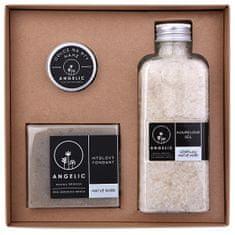 Angelic Darčeková krabička Angelic kúpeľová soľ očisťujúce Mŕtve more