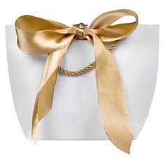 Troli Dárková taška se zlatou stuhou M