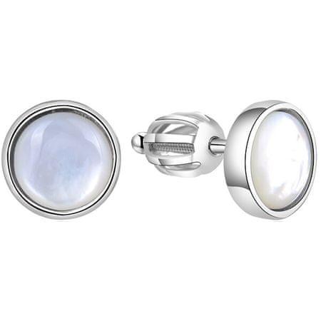 Beneto Ezüst fülbevalók gyöngyházgal AGUP1651S