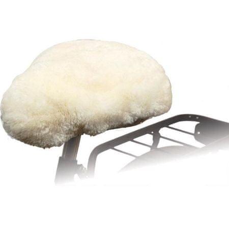 shumee Willex Nakładka na siodełko rowerowe, owcza skóra, naturalna, 30120
