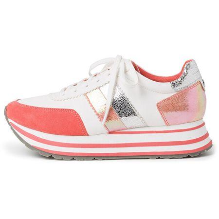 Tamaris Női sportcipő 1-1-23737-24-184 White/Orange (méret 40)
